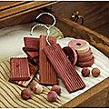 Cedar Wood Set, 30-Piece