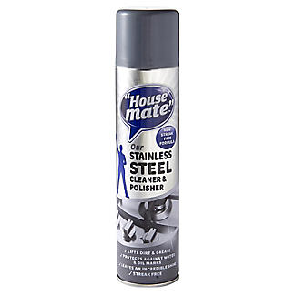 House Mate Stainless Steel Clean & Polish Spray