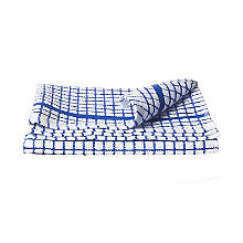 Blue Poli-Dri Tea Towel