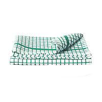 Poli-Dri® Geschirrhandtuch, grün-weiß kariert