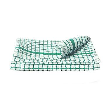 Green Poli-Dri Tea Towel