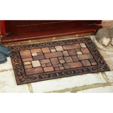 Outdoor Welcome Mat In Winter Home Preparation At Lakeland