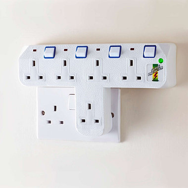 5-Way Plug Adapter