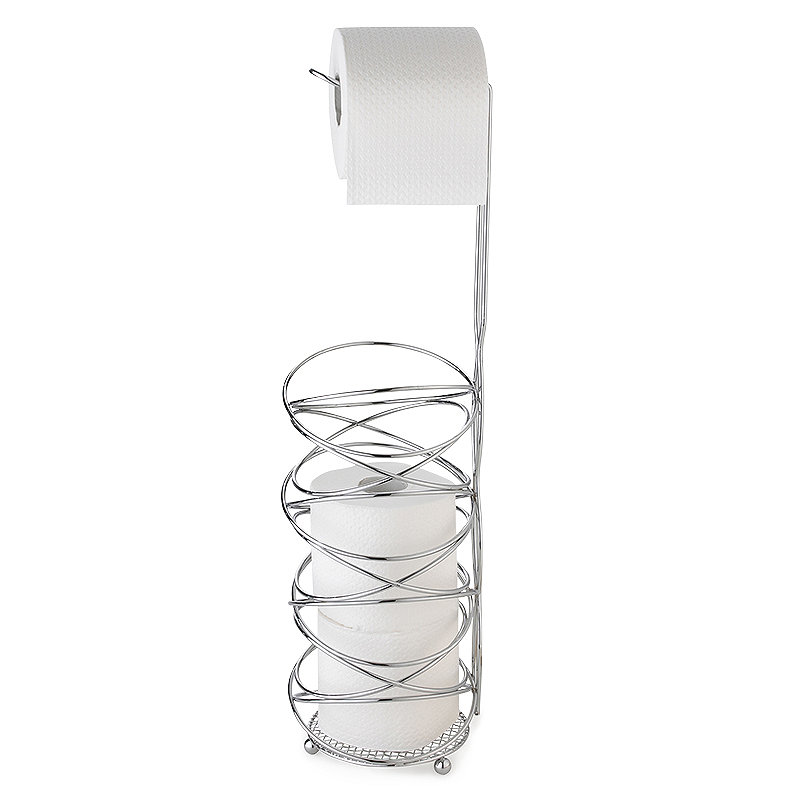 Swirly Loo Roll Stand And Store