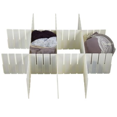 5 Any Way Drawer Organiser Cut To Fit Plastic Dividers