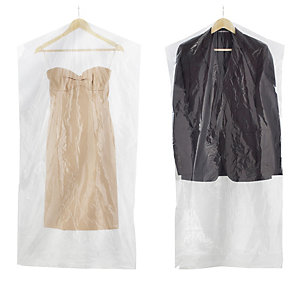 20 Value Clear View Garment Protective Clothes Covers