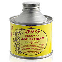 Stone's Beeswax Leather Cream & Polish 125ml