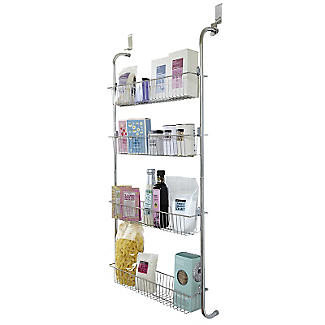 4 Tier Over-Door Storage Rack alt image 1