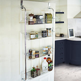 4 Tier Over-Door Storage Rack alt image 2