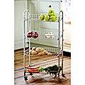 4-Tier Kitchen Trolley