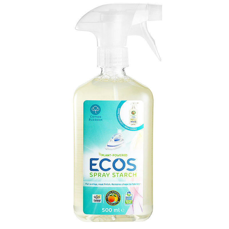 Earth Friendly Anti Static Laundry Starch Spray 500ml