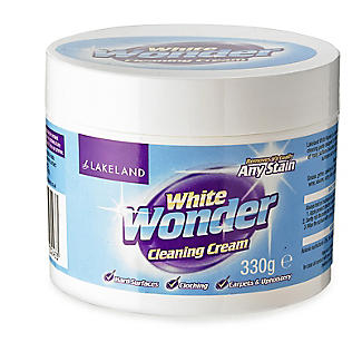 Lakeland White Wonder Stain Cleaning Cream 330g alt image 1