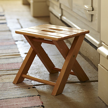 Folding Wooden Step Stool In Steps And Stools At Lakeland