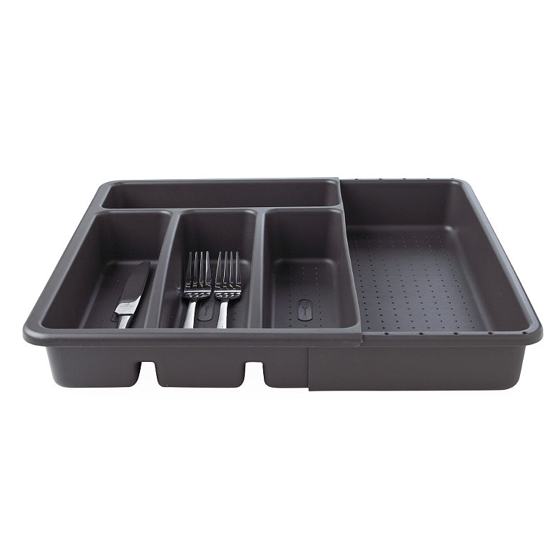 Expanding Drawer Organiser Cutlery Tray 4-5 Hole -