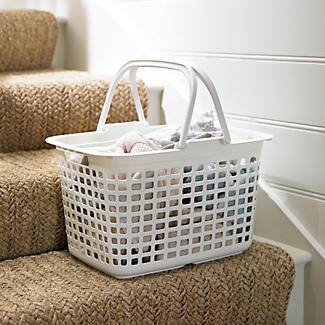 Laundry Tote Standard Plastic Washing Basket 25L alt image 2