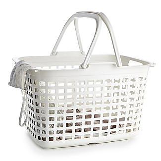 Laundry Tote Standard Plastic Washing Basket 25L alt image 3