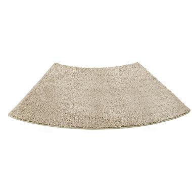 latte curved shower mat in bath mats at lakeland. Black Bedroom Furniture Sets. Home Design Ideas