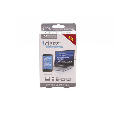 i.clenz® hi-tech screen wipes