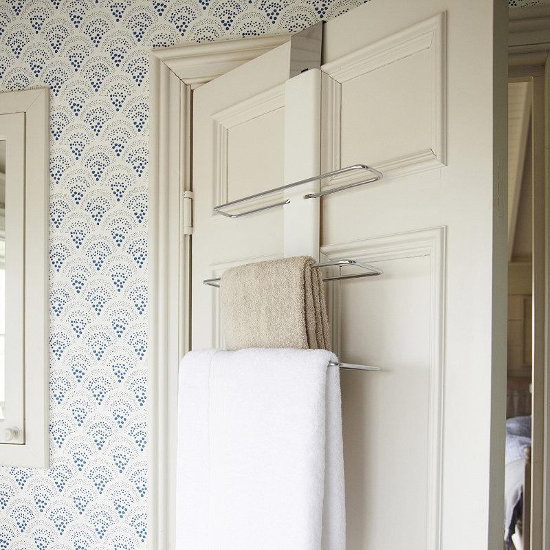 OXO Good Grips® Over The Door Towel Rack Alt Image 1