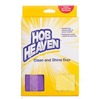 Hob Heaven™ Clean & Shine Duo Ceramic Hob Cleaning Cloths