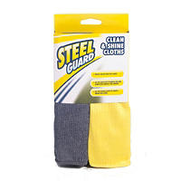 Steel Guard® Stainless Steel Clean & Shine Duo Cleaning Cloths