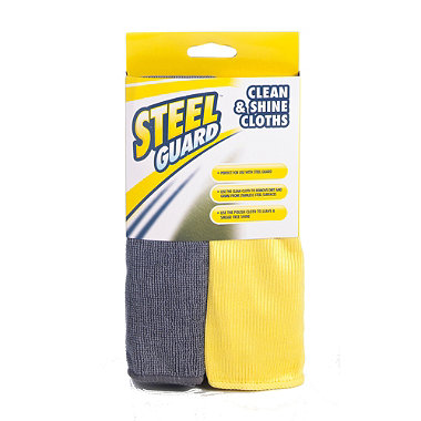 Steel Guard® Clean & Shine Duo
