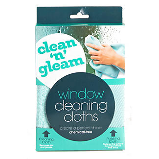 Clean & Gleam Glass Window Cleaning & Polishing Cloth alt image 3