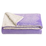 Lilac Softee Throw