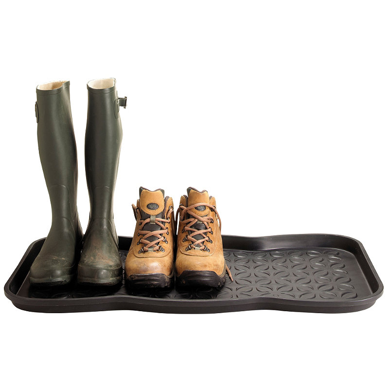 Stop muddy floors with Lakeland Boot Tray