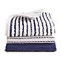 3 Scrubby Dishcloths - Royal Blue