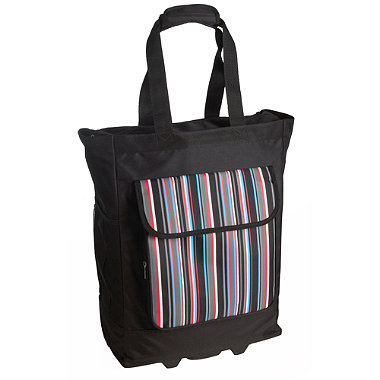 Stripe Wheelie Bag