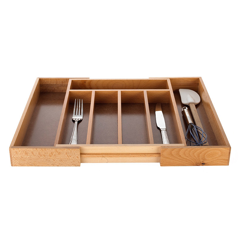 Expanding Drawer Organiser Cutlery Tray 5-7 Hole -