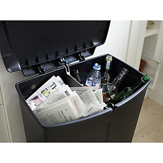 Simplehuman Divided Recycling Bin