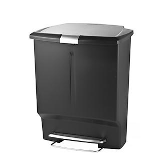 Simplehuman Divided Recycling Bin alt image 2