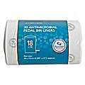 20 Antimicrobial Pedal Bin Liners