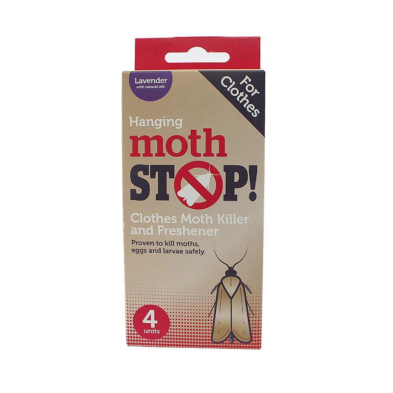 4 Moth Stop Hangers
