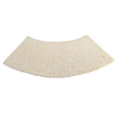 large curved shower mat latte in bath mats at lakeland. Black Bedroom Furniture Sets. Home Design Ideas