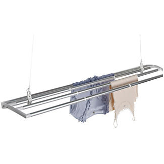The LOFTI Aluminium Ceiling Pulley Indoor Clothes Airer 7m
