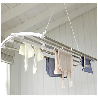 The LOFTI Aluminium Ceiling Pulley Indoor Clothes Airer 7m alt image 2