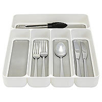 Stay Put Drawer Organiser Cutlery Tray 5 Hole