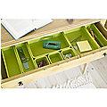 8-Piece Interlocking Bin Set Green