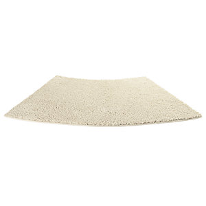 Standard Curved Shower Mat Cream