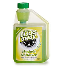 Kitchen Blocks Away™ Sink Plughole Unblocker 500ml