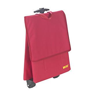 Smart Cart Trolley Einkaufstasche mit Rollen, Rot, 30 L alt image 2