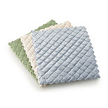 3 Quilted Wash Up Pads