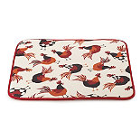 Rooster Drying Mat