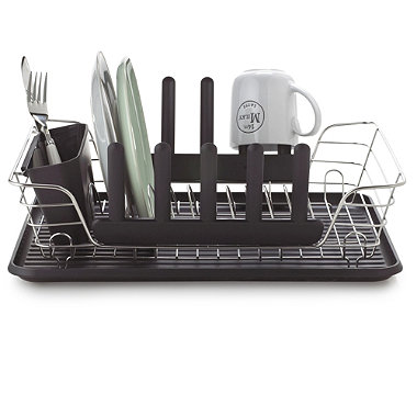 Versatile Black Dishrack