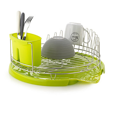 Small Circular Dishrack in dish racks and drainers at Lakeland