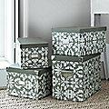 4 Regency Storage Boxes