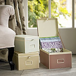Flip Up Storage Boxes